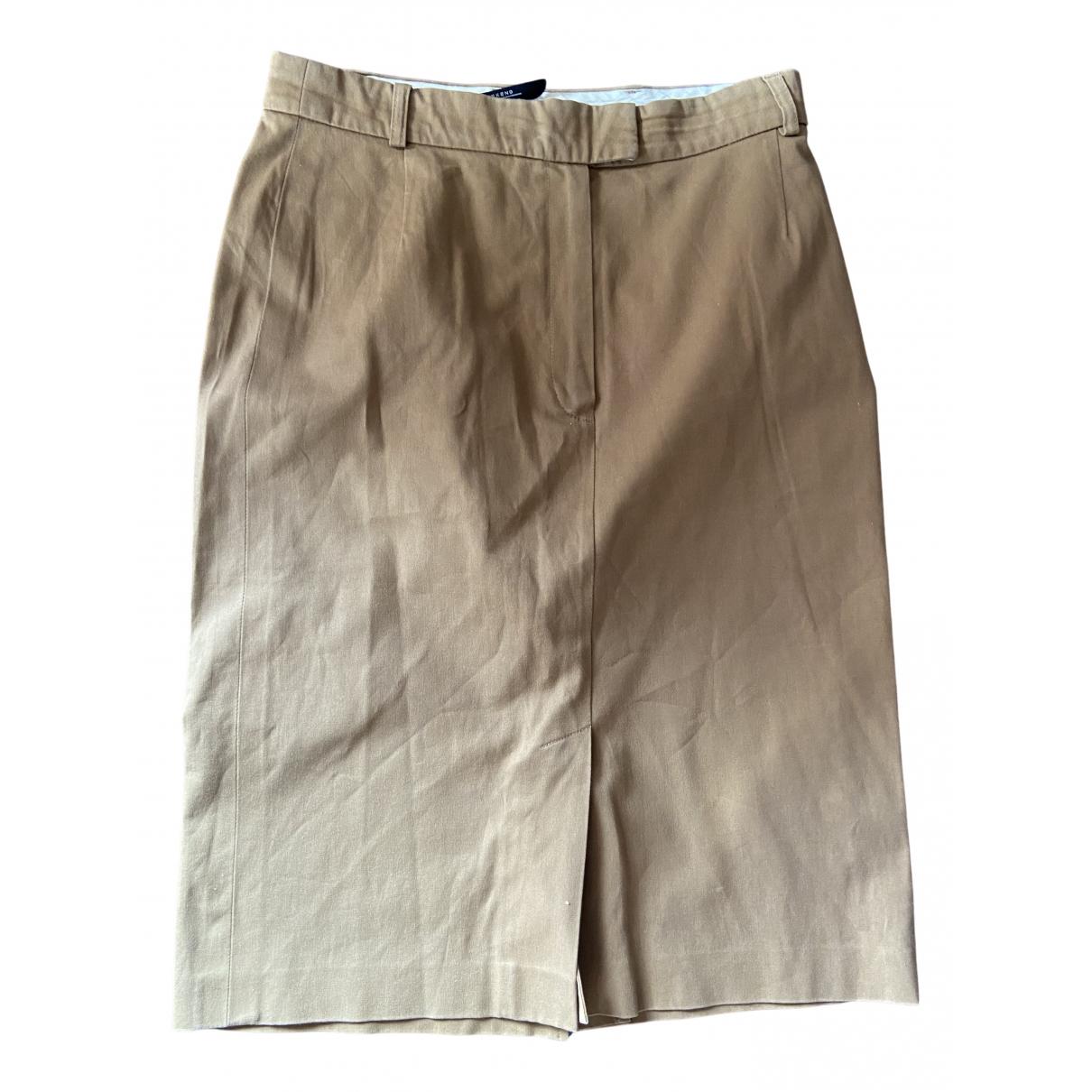 Max Mara Weekend N Brown Cotton skirt for Women L International