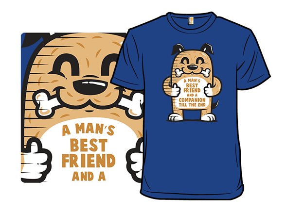 Mans Best Friend T Shirt