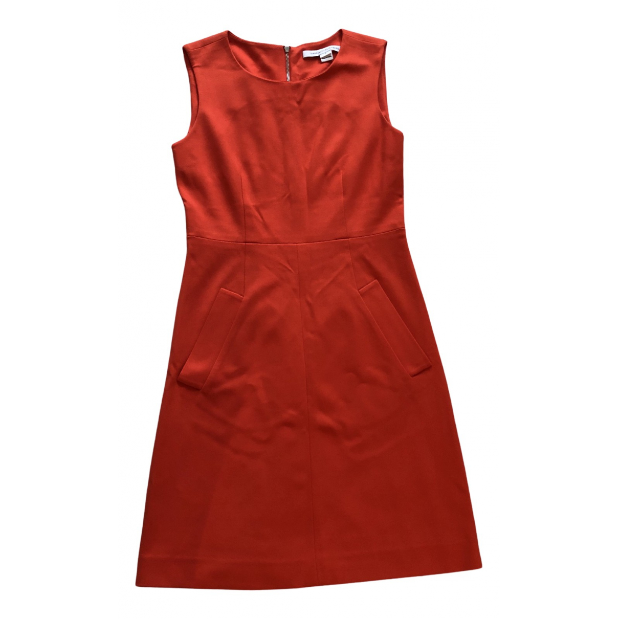 Diane Von Furstenberg N Orange dress for Women 0 0-5