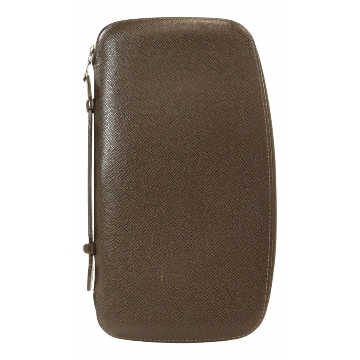 Louis Vuitton N Brown Leather Small bag, wallet & cases for Men N