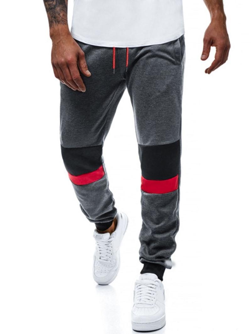 Ericdress Color Block Sports Casual Pants