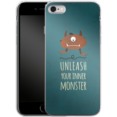 Apple iPhone 6 Silikon Handyhuelle - Unleash Your Inner Monster von Statements