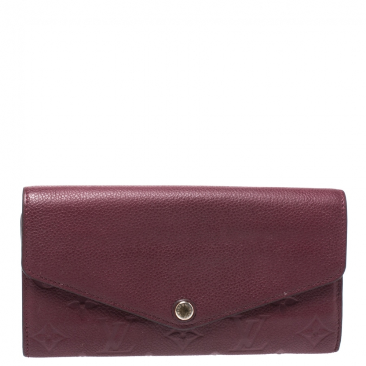 Louis Vuitton \N Burgundy Leather wallet for Women \N