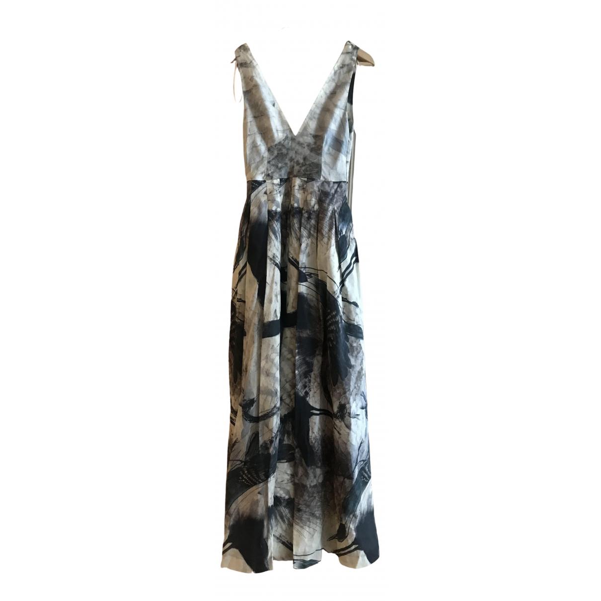 Maxi vestido de Lino Hm Conscious Exclusive