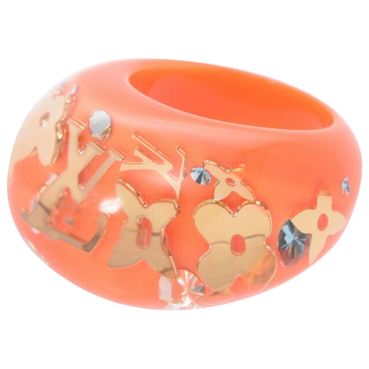 Louis Vuitton - Bague Inclusion pour femme - orange