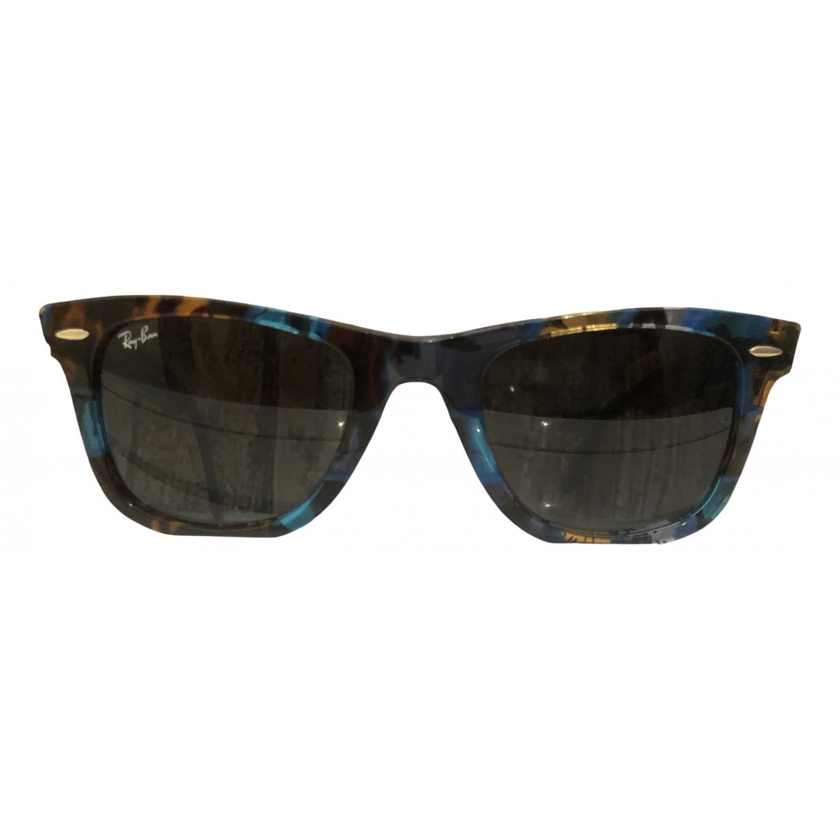 Ray-ban Original Wayfarer Blue Sunglasses for Women \N