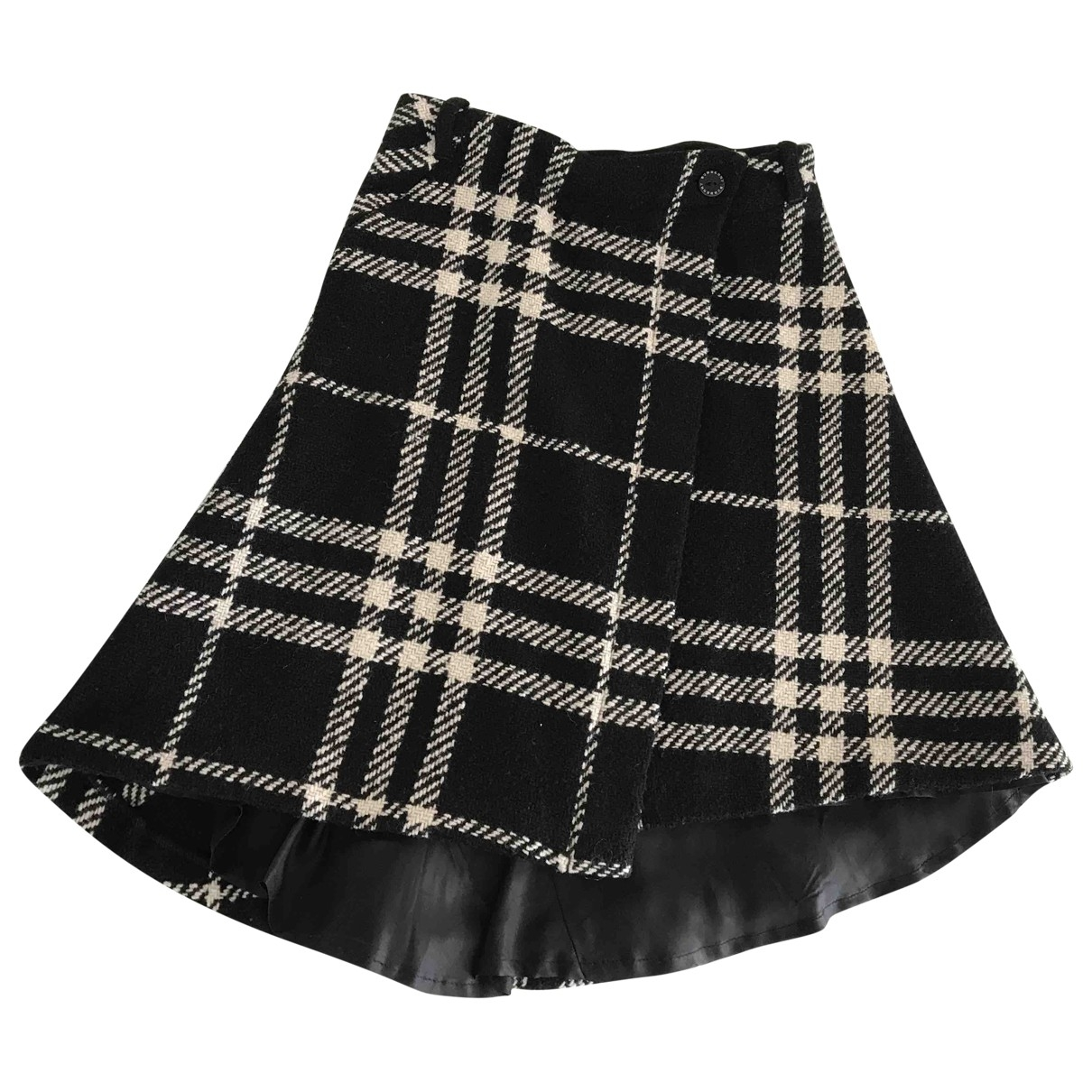 Burberry \N Black Wool skirt for Kids 8 years - up to 128cm FR