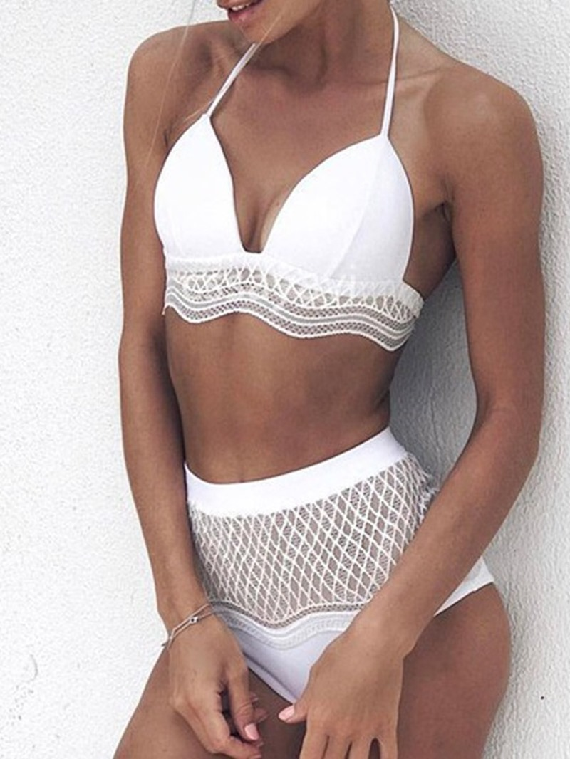 Ericdress Lace-Up Micro Skimpy Sexy Swimsuit