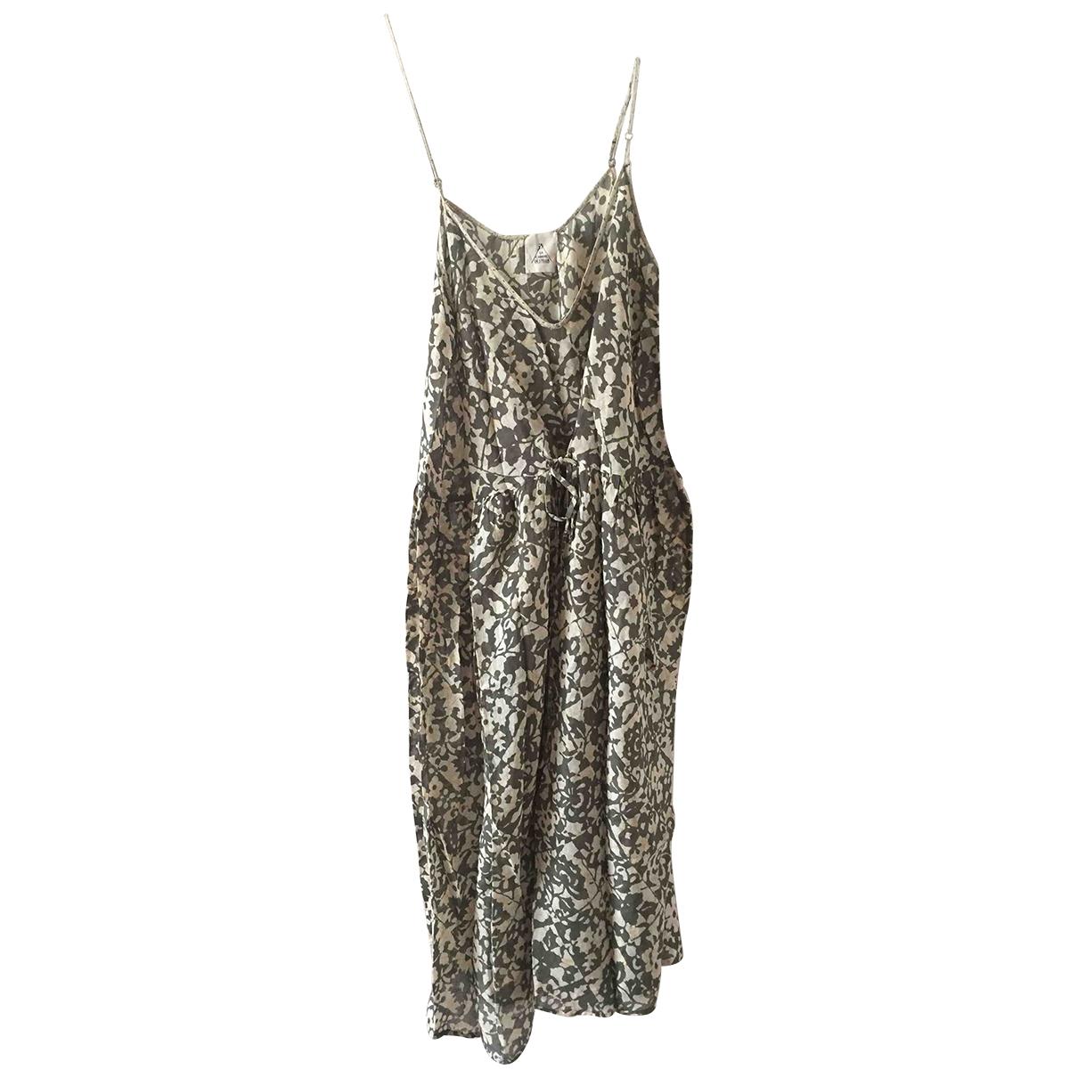 Stella Forest - Robe   pour femme en coton - vert
