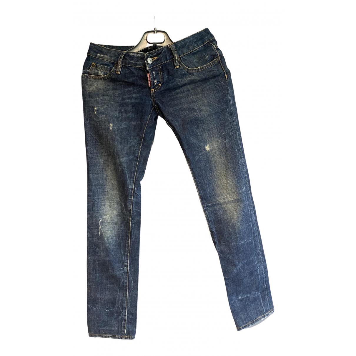 Dsquared2 N Blue Denim - Jeans Jeans for Women 36 FR