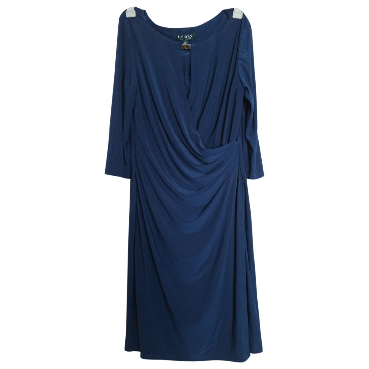 Lauren Ralph Lauren \N Kleid in  Blau Polyester