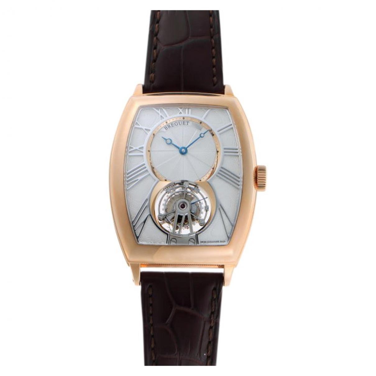 Breguet \N Uhr in  Schwarz Rosegold