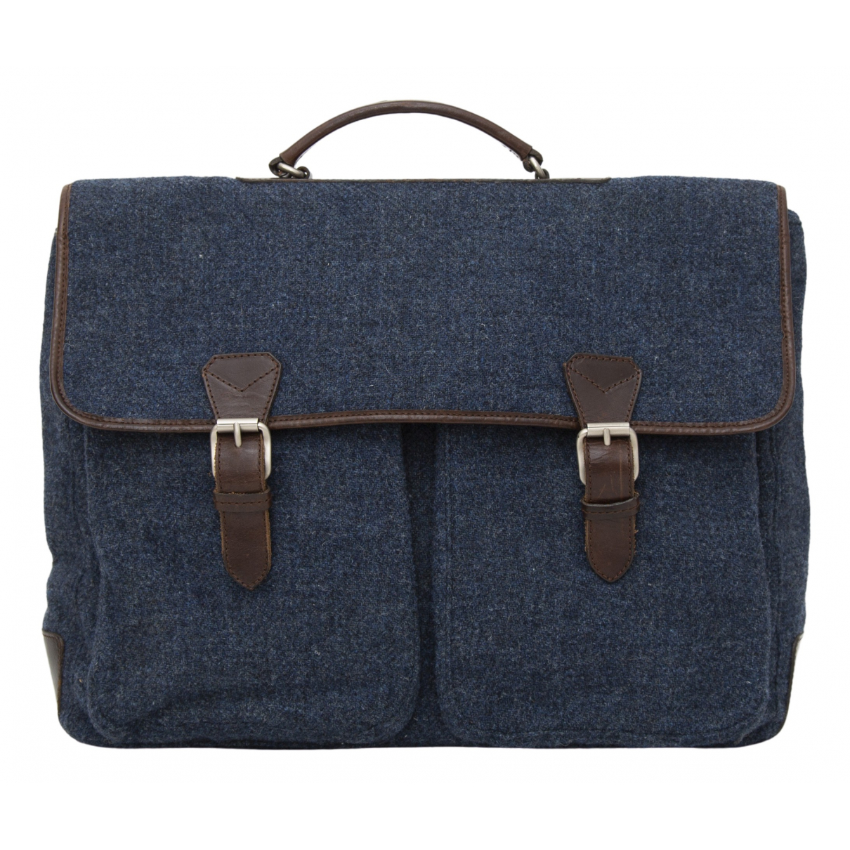 Paul Smith - Sac de voyage   pour femme en tweed - bleu