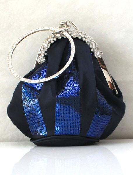 Milanoo Fashion Silk Sequin Evening Bag in 4 Colors