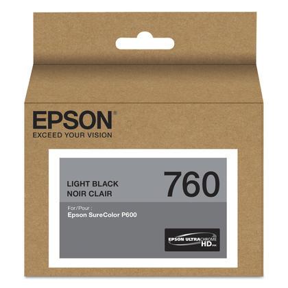 Epson 760 T760720 cartouche d'encre originale noir clair