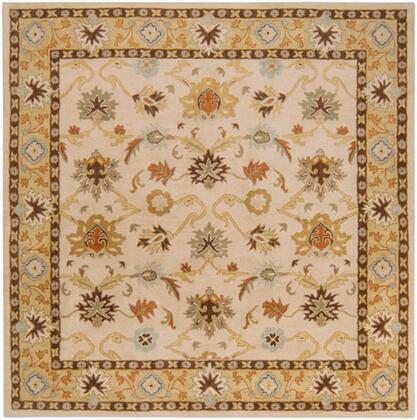 Caesar CAE-1010 8 Square Traditional Rug in
