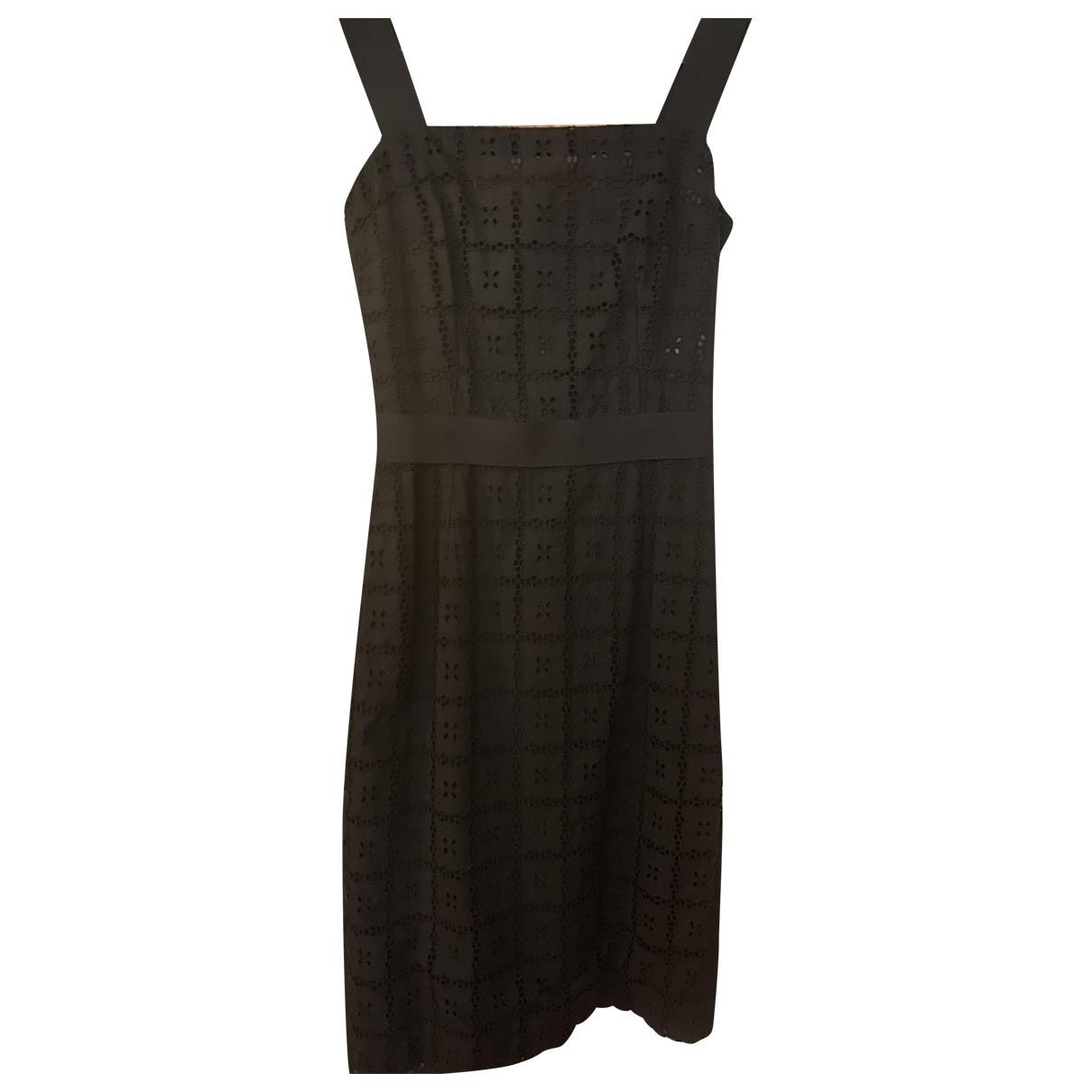 Dolce & Gabbana - Robe   pour femme en coton - noir