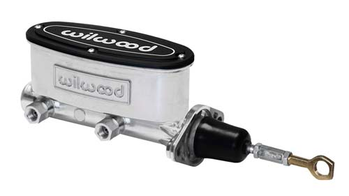 Wilwood 260-12900-P Aluminum Tandem Master Cylinder Media Burnished 7/8