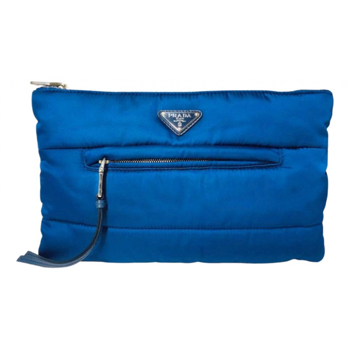 Prada N Navy Cloth Clutch bag for Women N