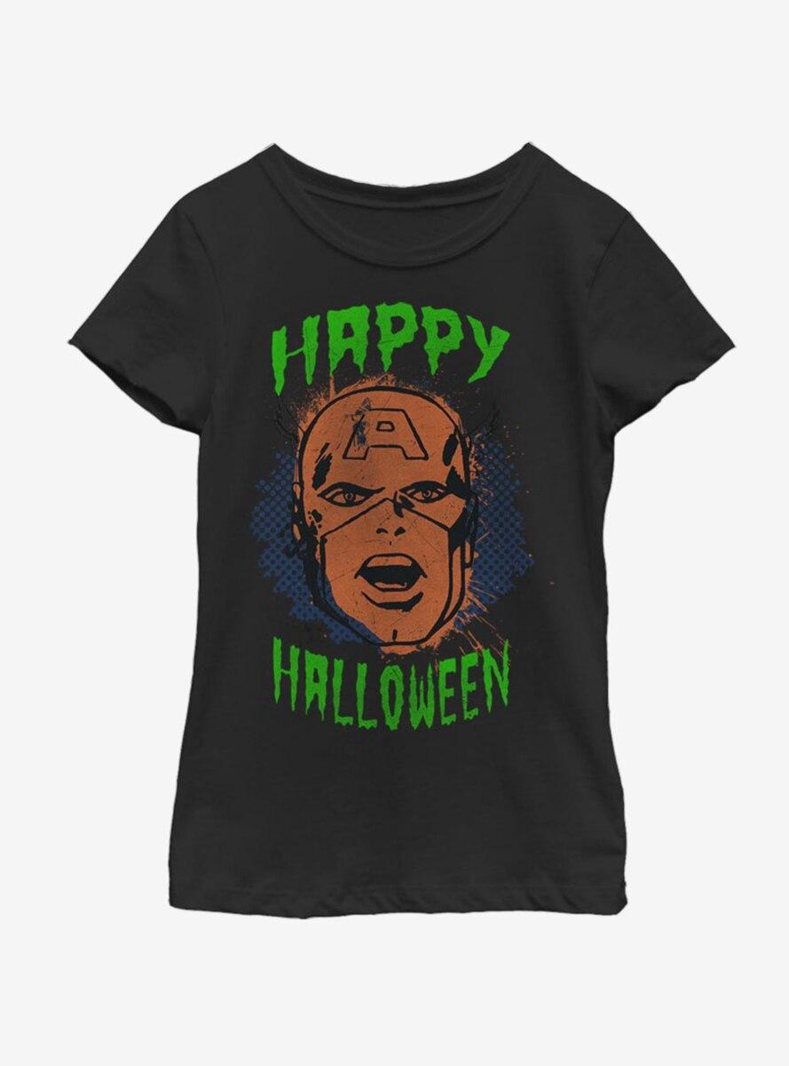 Marvel Captain America Halloween Youth Girls T-Shirt