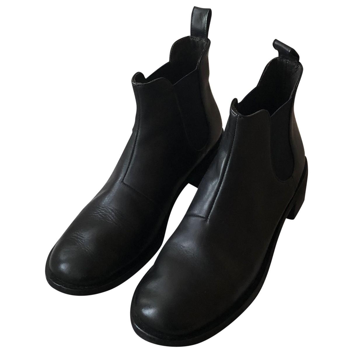 Marsell \N Stiefeletten in  Schwarz Leder