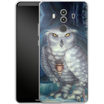 Huawei Mate 10 Pro Silikon Handyhuelle - Ed Beard Jr - Wizard Messenger Owl von TATE and CO