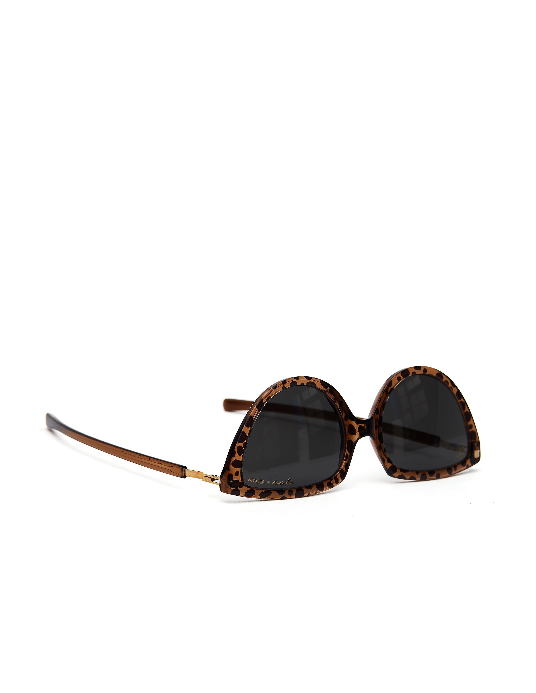 Mykita Topaz Leopard Mykita + Martine Rose «SOS» Sunglasses