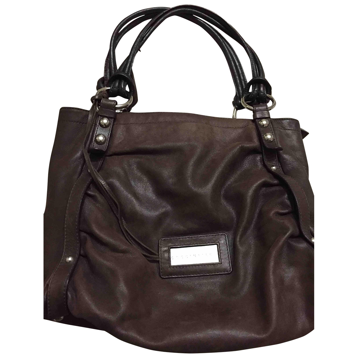 Coccinelle \N Brown Leather handbag for Women \N