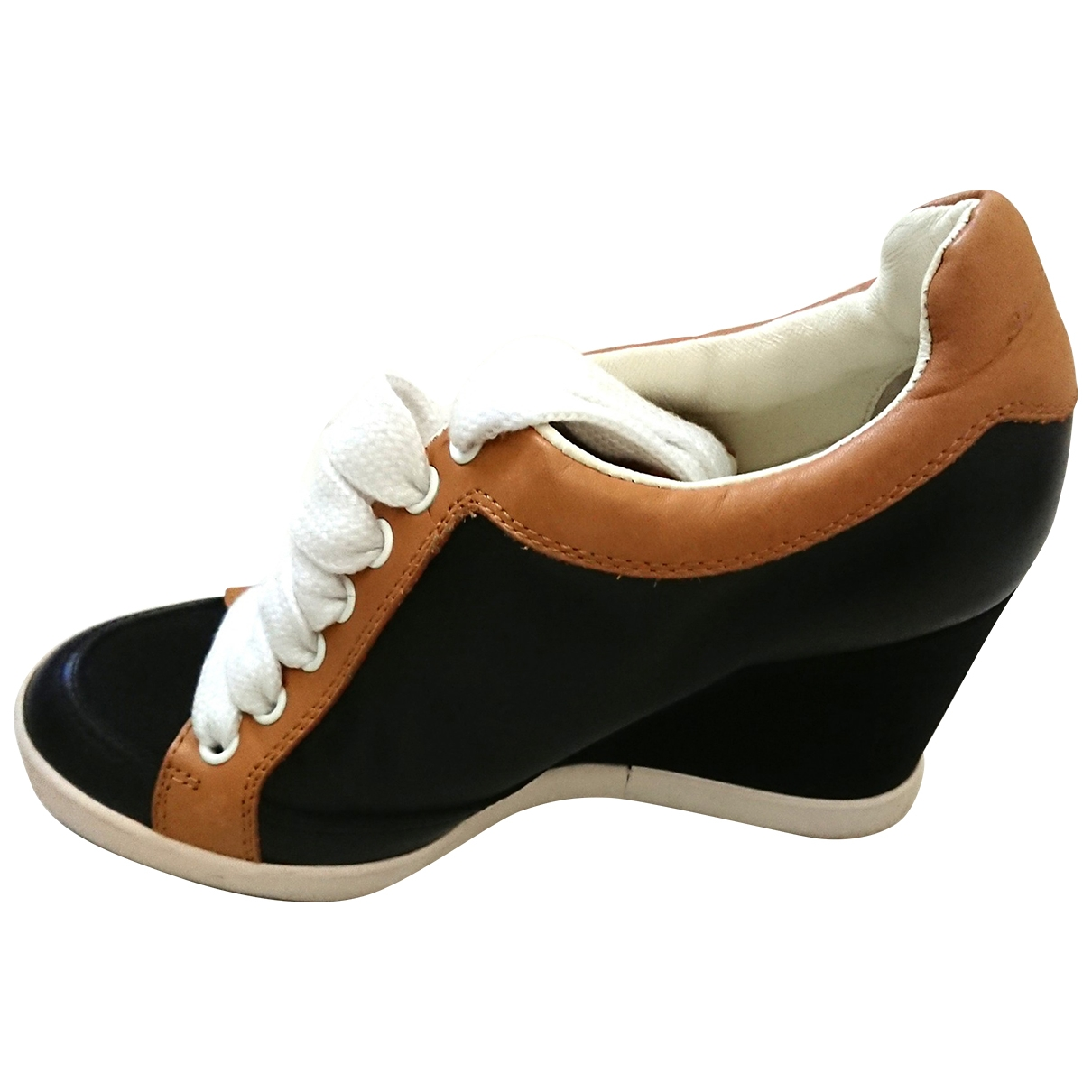 See By Chloe - Baskets   pour femme en cuir - noir