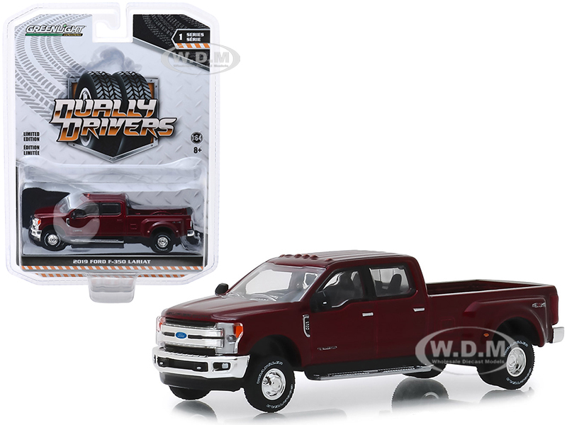2019 Ford F-350 Lariat Pickup Truck Ruby Red