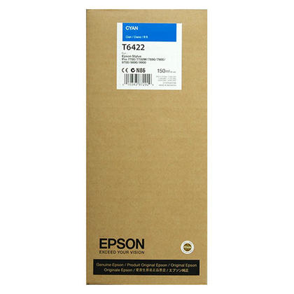 Epson T642200 Original Cyan Ink Cartridge