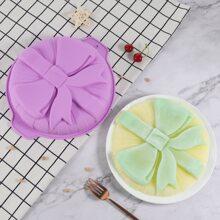 1 Stueck zufaellige Kuchenform mit Schleife Detail