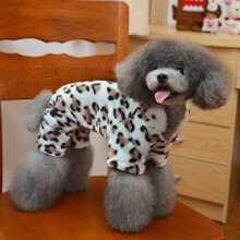 Leopard Dog Jumpsuit
