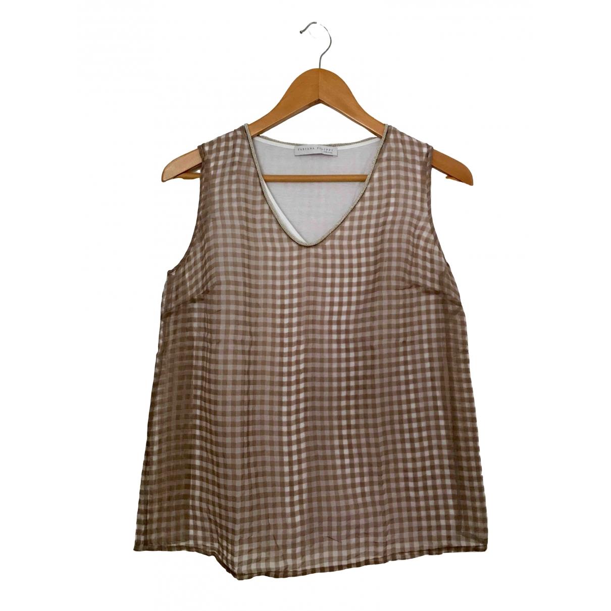 Camiseta sin mangas Fabiana Filippi