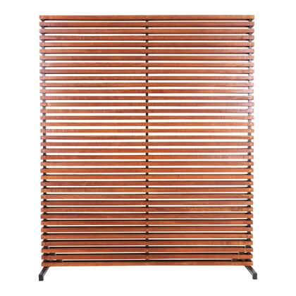 Dallin Collection CV-1012-24 Screen with Aluminum Frame in Brown