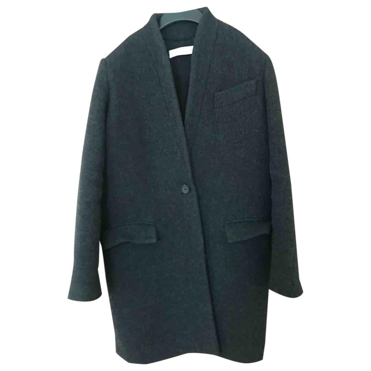 Iro Fall Winter 2019 Grey Wool coat for Women 34 FR