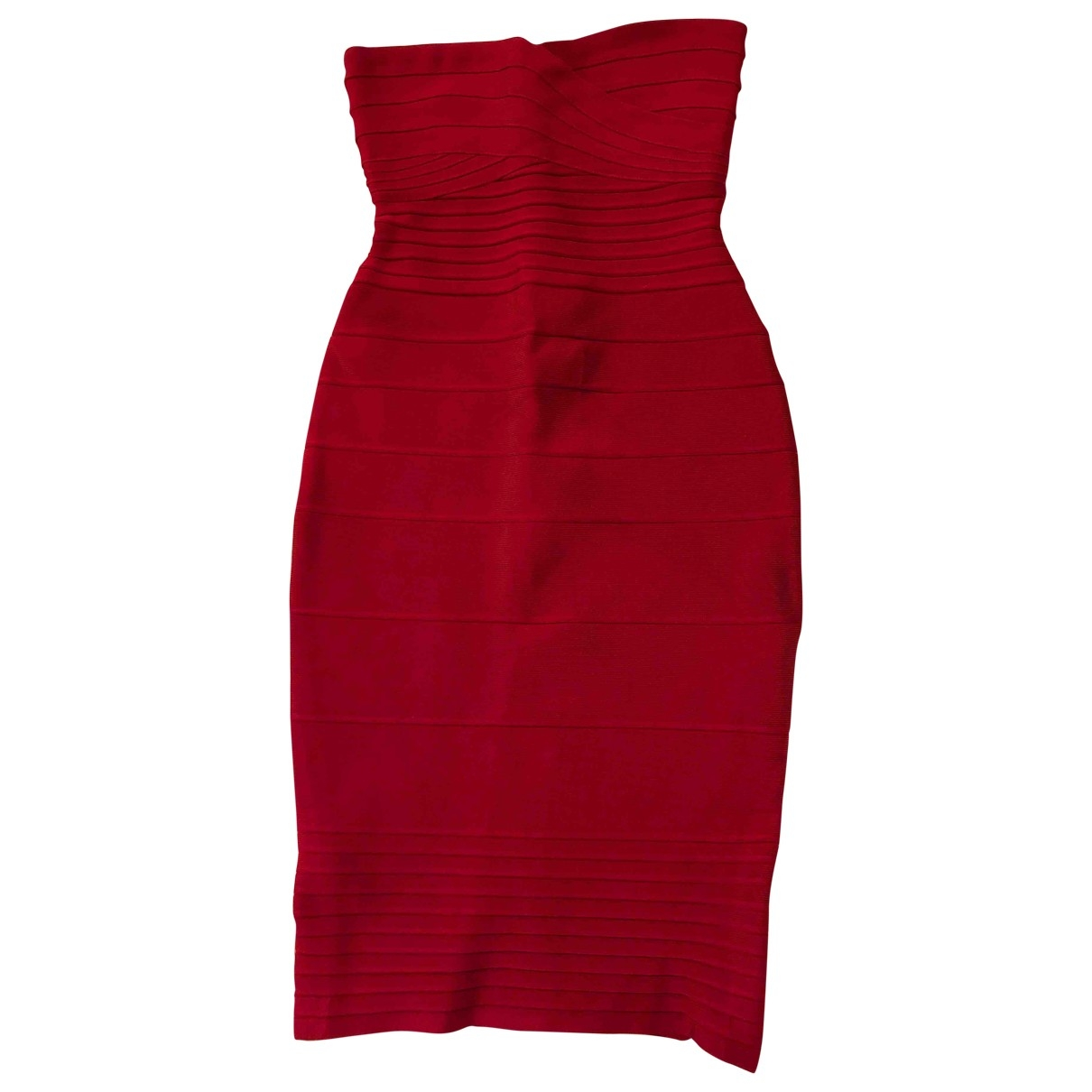 Herve Leger \N Red dress for Women XS International