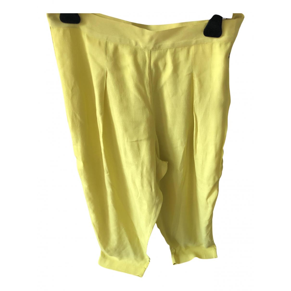 Pantalon zanahoria de Seda Forte_forte