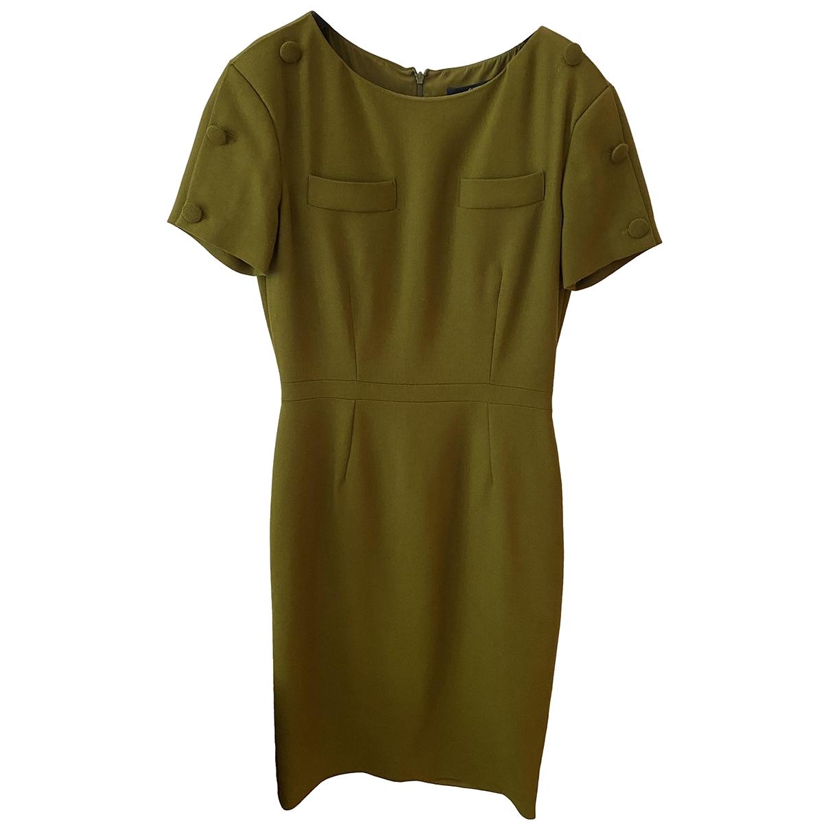 Gucci \N Khaki Wool dress for Women 38 FR