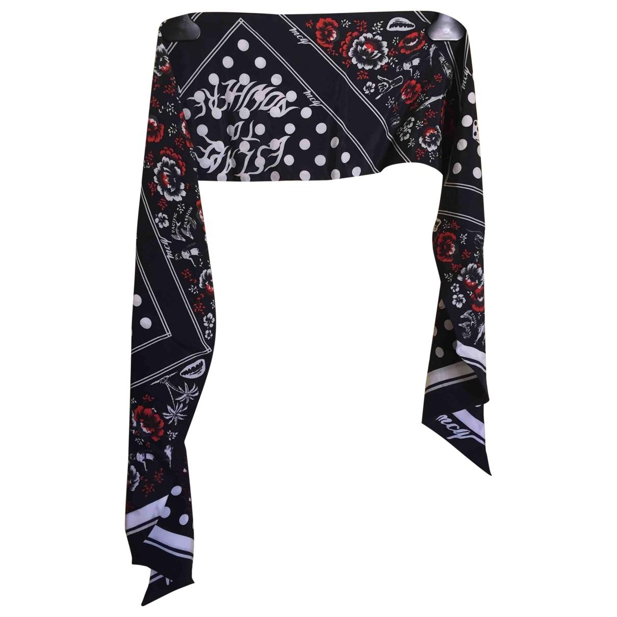Mcq - Foulard   pour femme en coton - noir