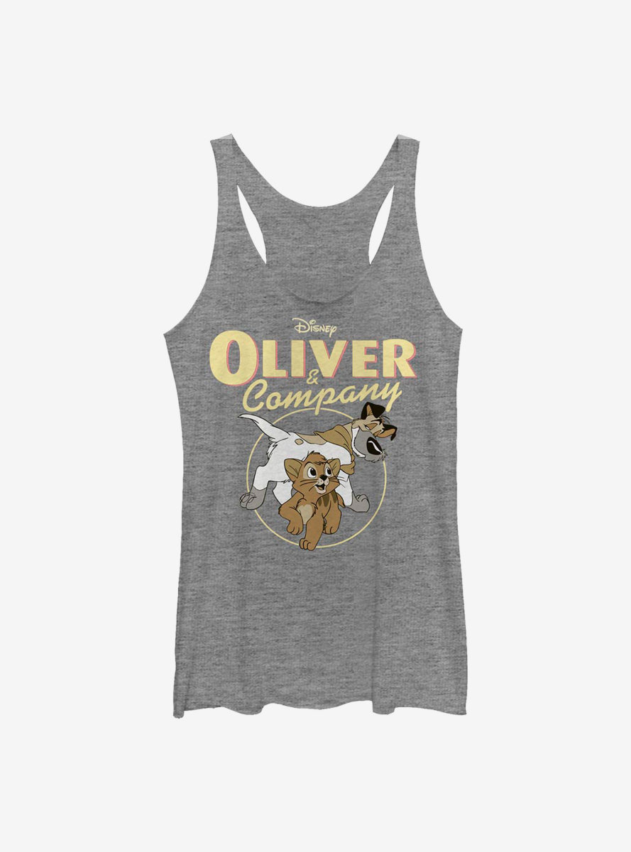 Disney Oliver And Company Good Company Womens Tank Top