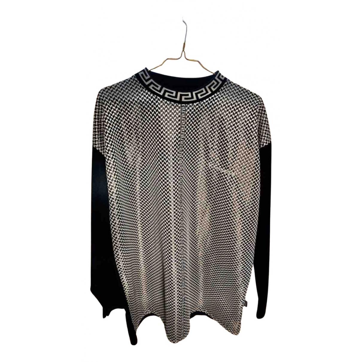 Versace N Multicolour Cotton Knitwear & Sweatshirts for Men XL International