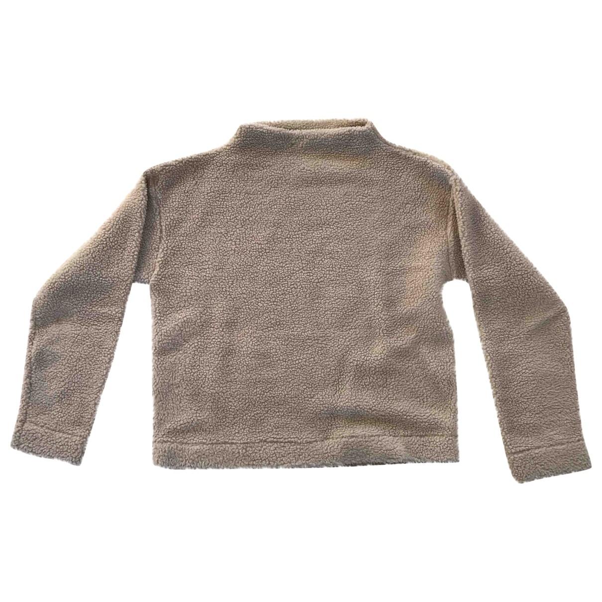 Bellerose \N Pullover, StrickJacke in  Beige Polyester
