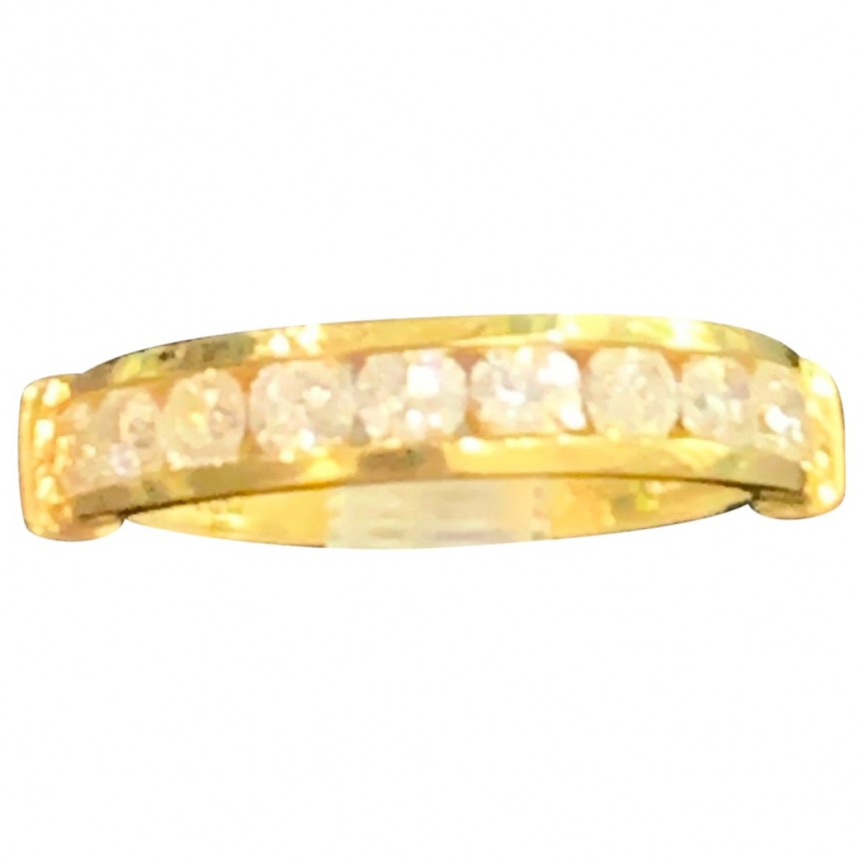 Non Signé / Unsigned Alliance Yellow gold ring for Women \N