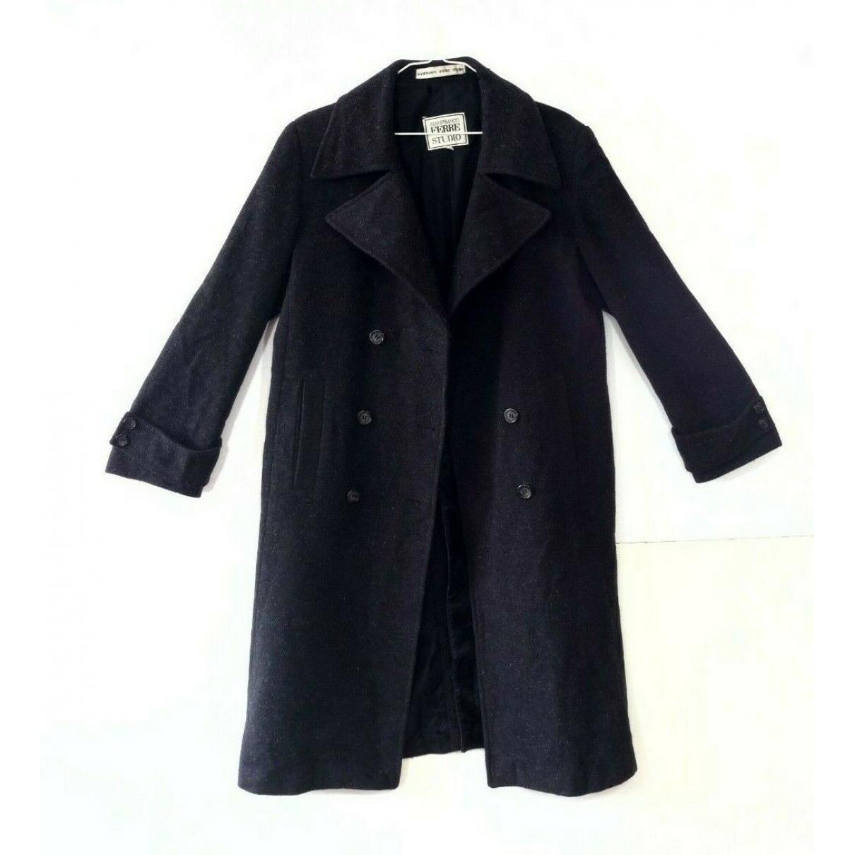 Gianfranco Ferré \N Anthracite coat  for Men 42 IT