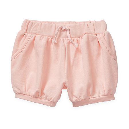 Okie Dokie Baby Girls Bubble Short, 18 Months , Pink