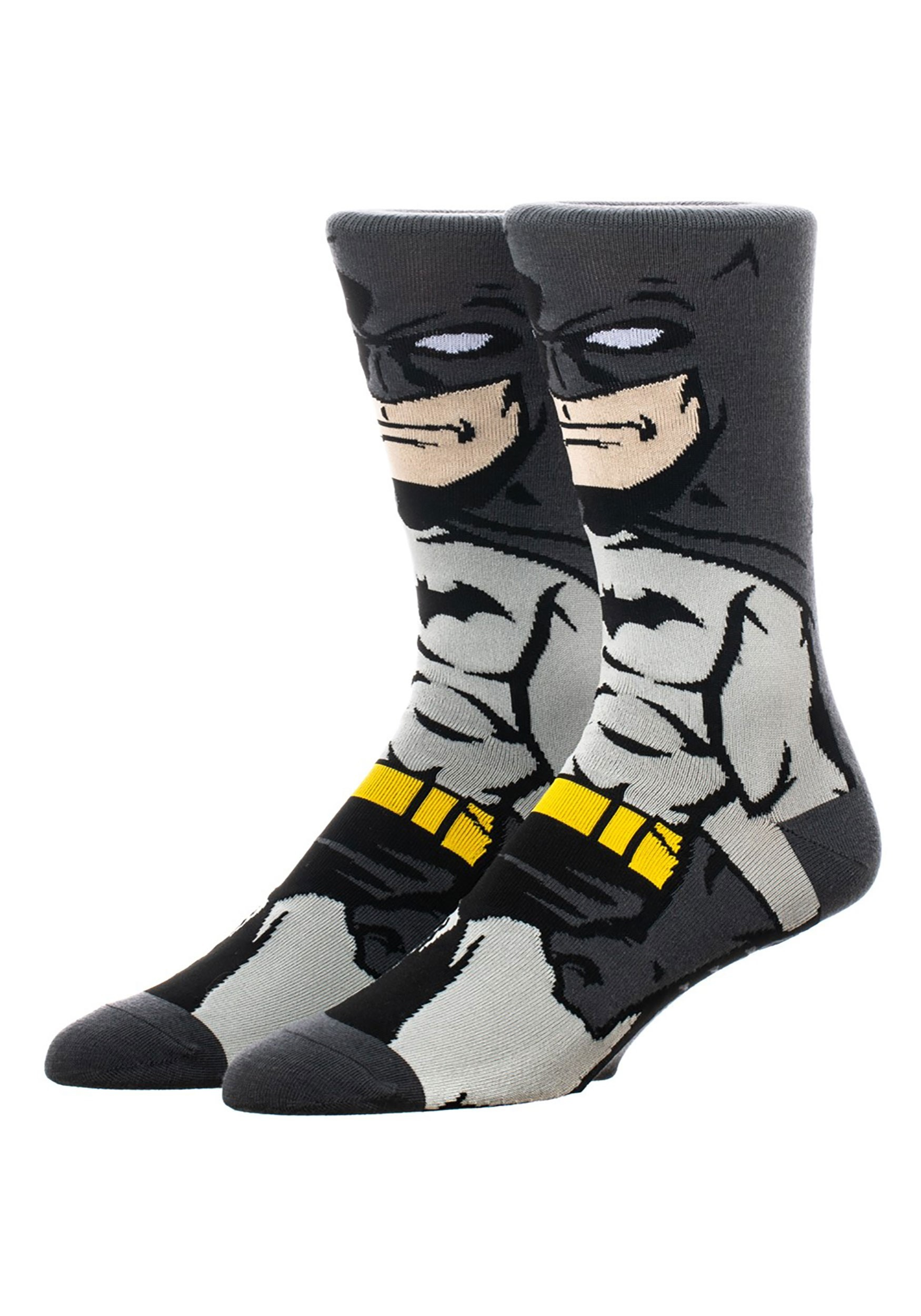 360 Character Crew Socks Batman Dark Knight