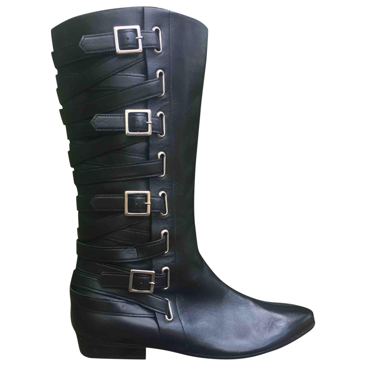 Marc By Marc Jacobs \N Black Leather Boots for Women 36.5 EU