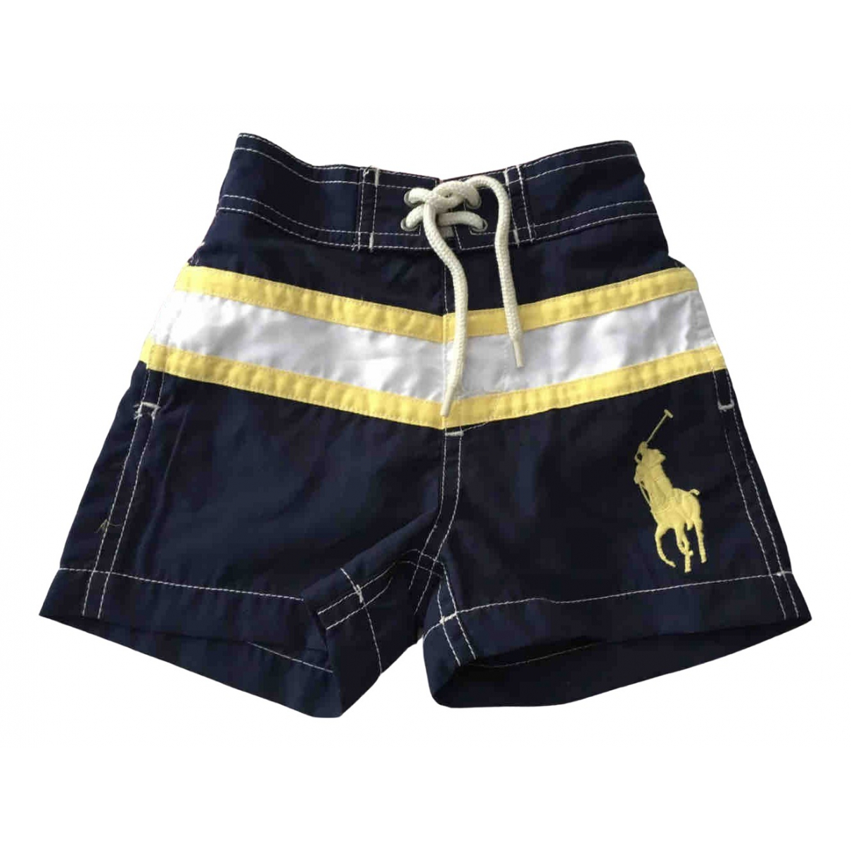 Polo Ralph Lauren \N Shorts in  Marine Polyester