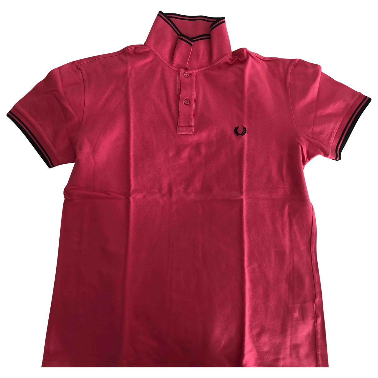 Fred Perry \N Poloshirts in  Rosa Baumwolle